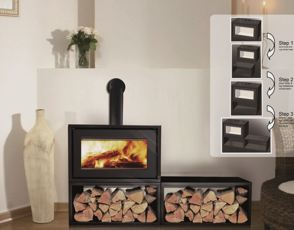 Canature Taurus P3 F Freestanding fireplace