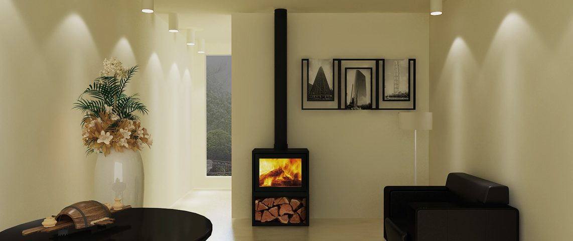 Canature Taurus SI Freestanding fireplace
