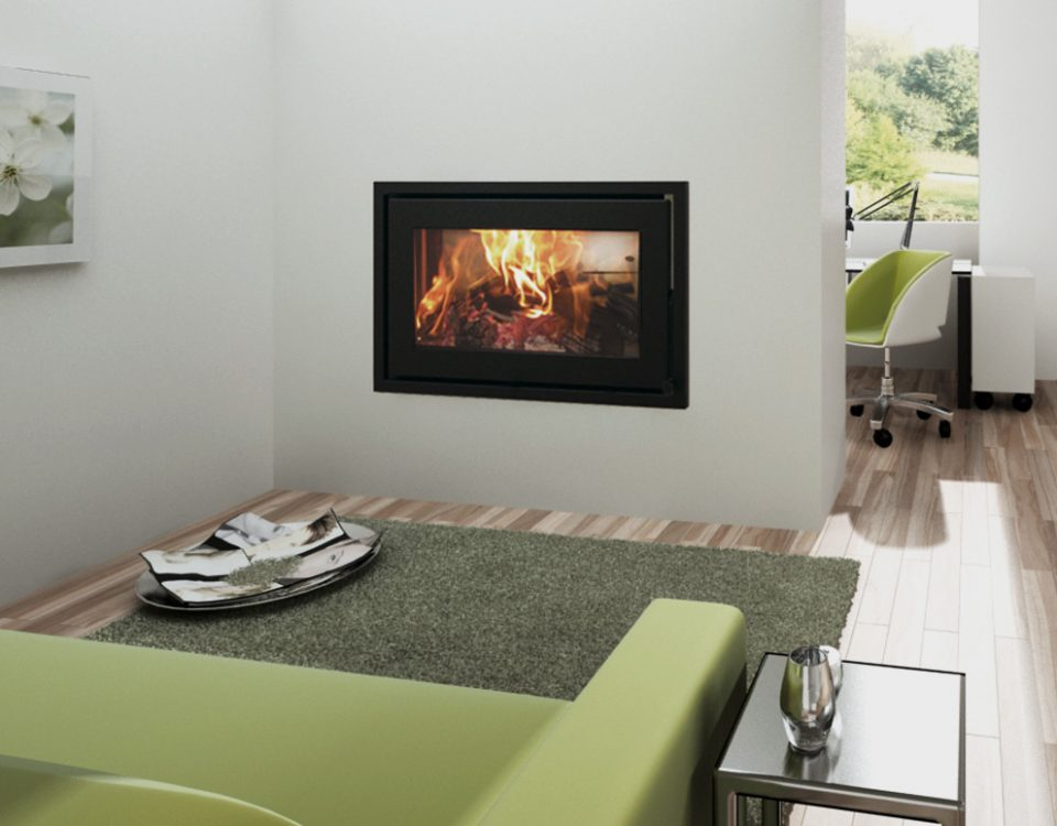 Canature taurus p3f double sided fireplace